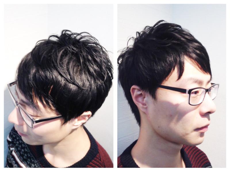 メンズ パーマ ゆる ふわ 人気のヘアスタイル ふわゆるパーマ風のヘアカット